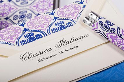 Briefpapier von Rossi 1931 Italien Druckpresse